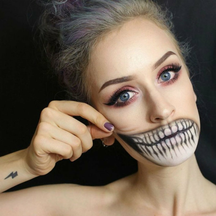 1001 Ideas De Maquillaje Para Halloween Fácil Y Super Original