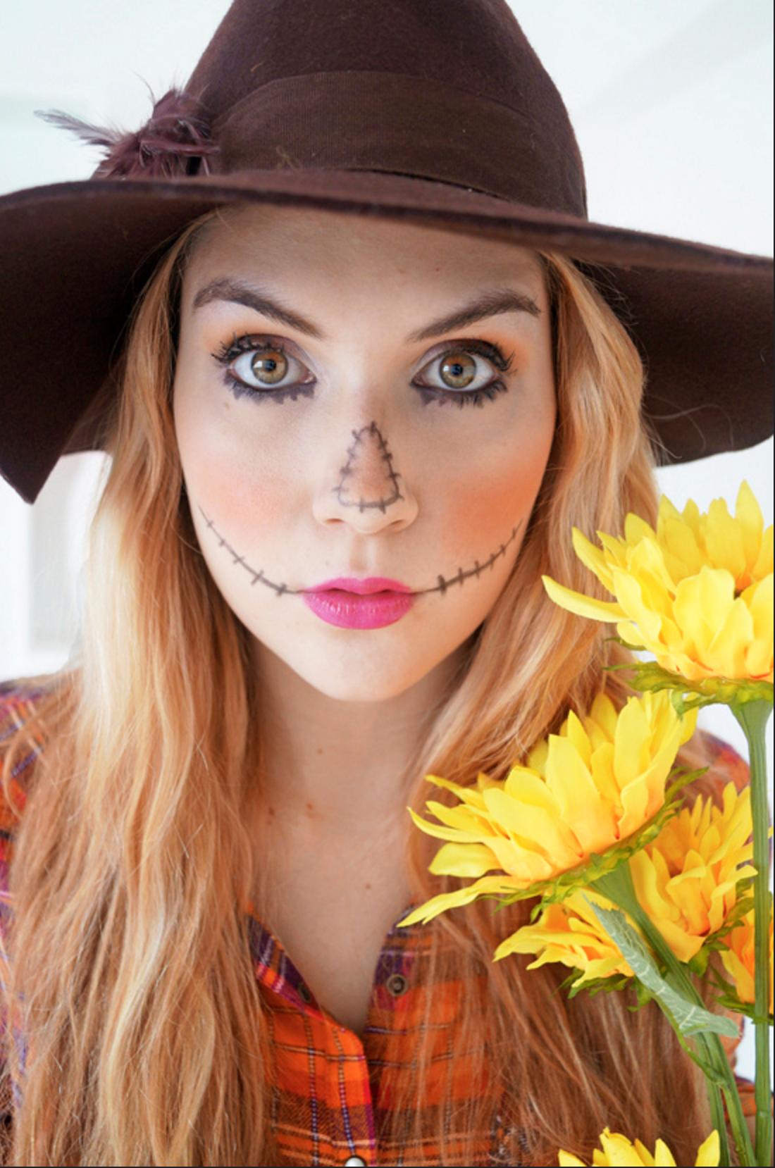maquillaje bruja halloween en menos de 10 minutos, ideas originales y sencillas para hacer en casa