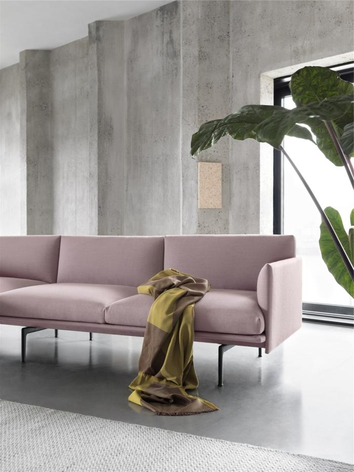 alucinantes ideas de decoración de salones, salón decorado en estilo minimalista en tonos pastel, qué colores se llevan para pintar un salon