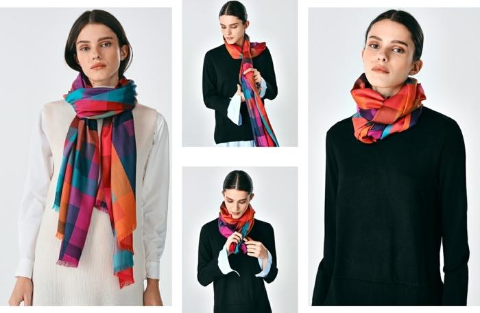formas de ponerse un pañuelo según las últimas tendencias, accesorios decorativos para completar tu look