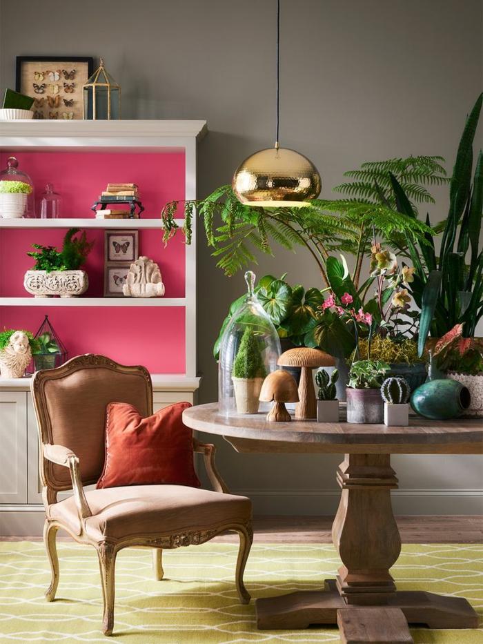 ingeniosas propuestas sobre qué colores se llevan para pintar un salón, como pintar en salón en dos colores
