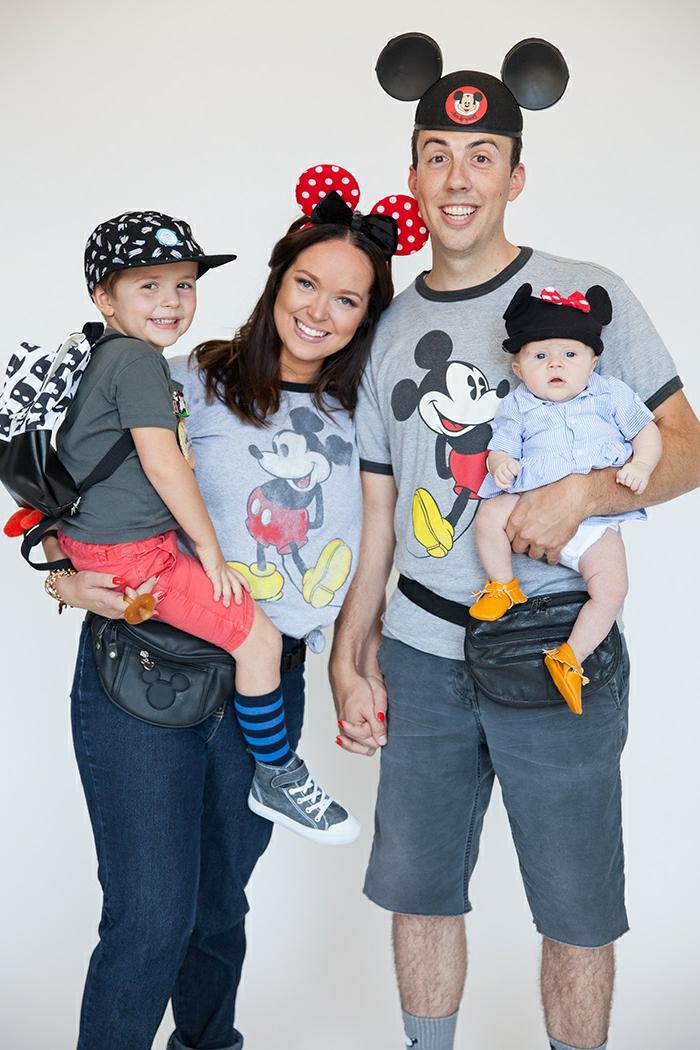 disfraces faciles de hacer para toda la familia, ideas de disfraces DIY, disfraces inspirados en las películas de Disney