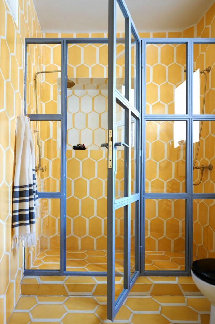 ideas sobre como reformar baño moderno, precioso cuarto de baño decorado en estilo marroquí, tendencia boho chic