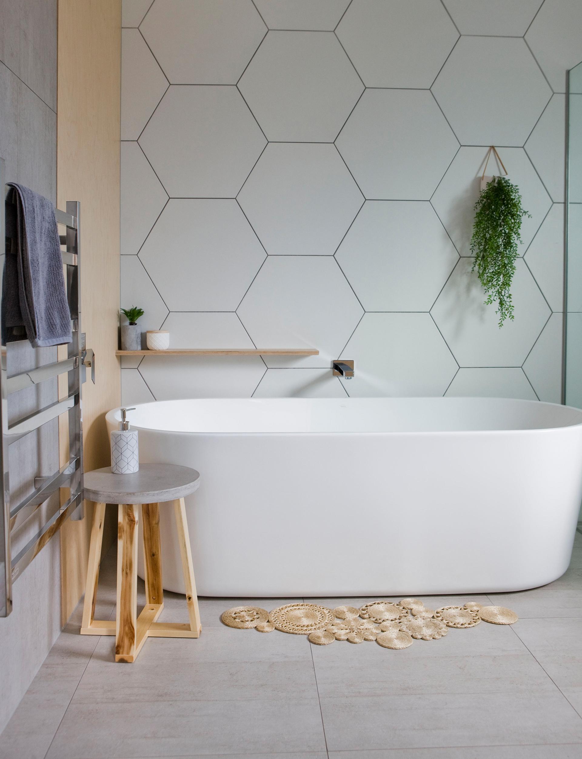 cuartos de baño de diseño decorados en estilo contemporáno según las últimas tendencias 2018 2019