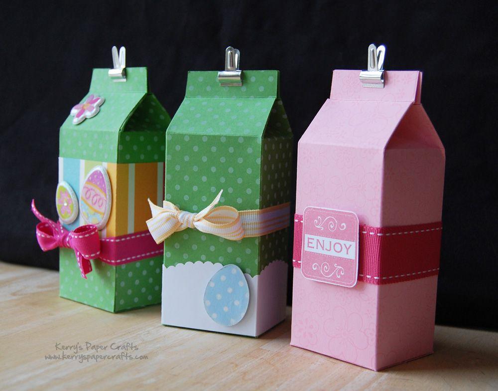 ideas sobre como decorar una caja de carton, cajas de cartón personalizadas para Pascua, materiales con reciclaje