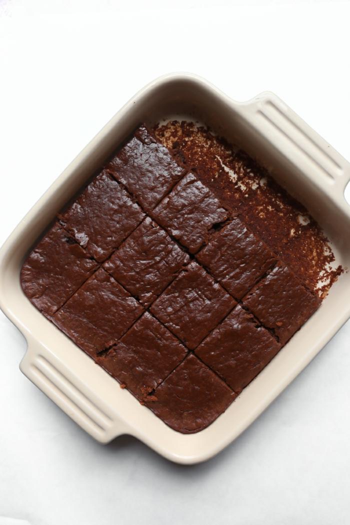 tarta vegana de chocolate super rica, ideas de postres para vegetarianos y veganos en bonita fotos