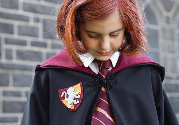 disfraces halloween originales fáciles de hacer, ideas de disfraces para tu pequeños, disfrace Ginny Weasley