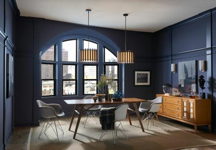 1001 ideas sobre qu colores se llevan para pintar un for Cocina pintura pato azul