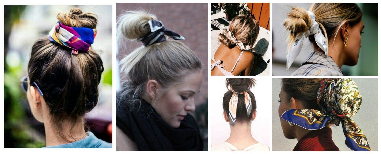 pañuelos para la cabeza de seda, propuestas originales y modernas sobre como adornar tu cabeza con un fular