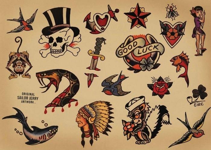 1001 Ideas De Tatuajes Old School Para Hombres Y Mujeres
