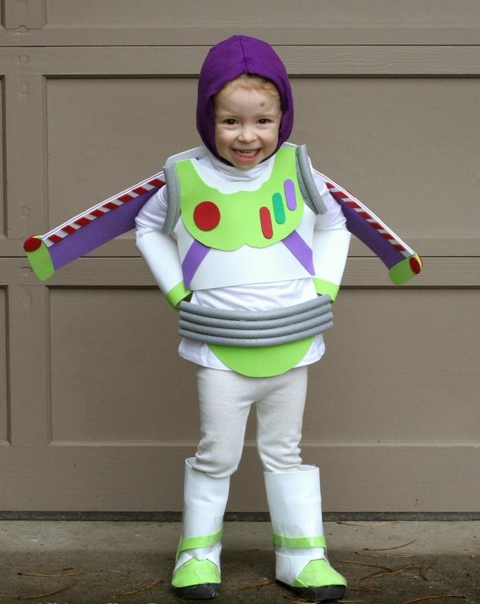 ideas originales de disfraces de halloween caseros para niños, disfraces infantiles caseros fáciles de hacer