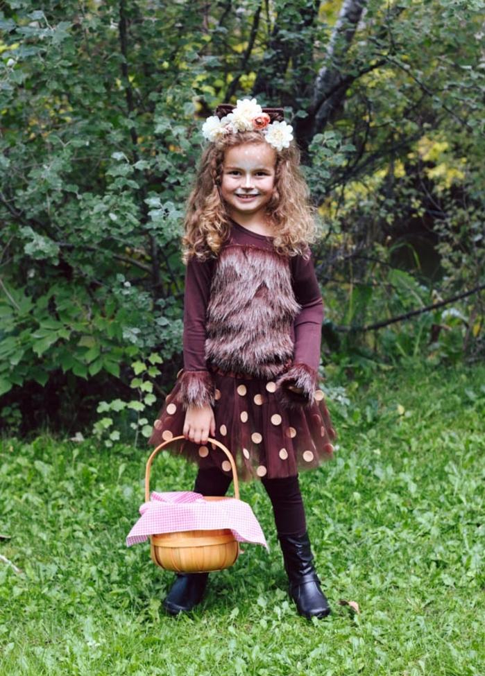 excelentes ideas de disfraces de halloween caseros para niños, disfraces para niñas, la caperucita roja