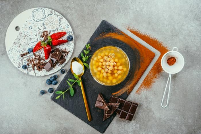 ingredientes para preparar postres ricos veganos, fotos de postres ligeros sin mantequilla, ideas de postres veganos