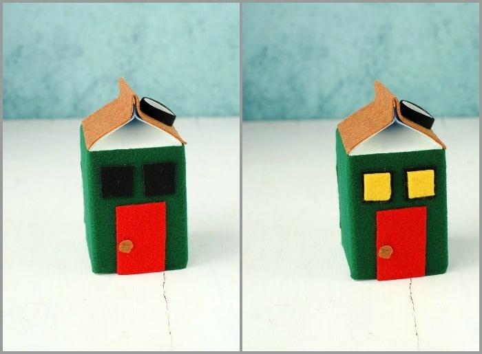 adornos navideños hechos a mano con materiales reciclados paso a paso,manualidades con cartón
