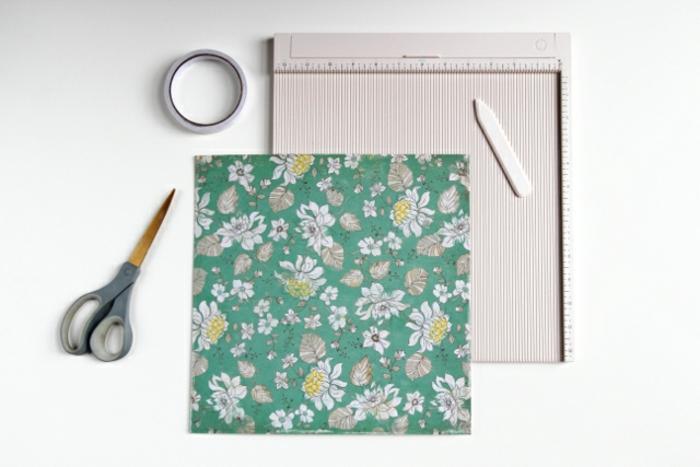 materiales necesarios para hacer cajas de cartón DIY, ideas de manualidades con cartulina originales