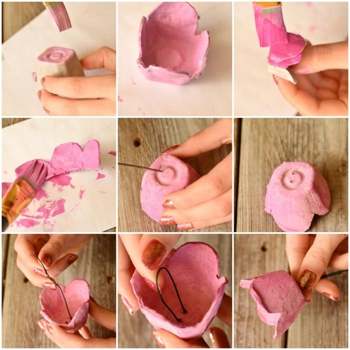pasos para hacer tarjetas escolta con rosas, manualidades con cartón en imágines, ideas DIY para pequeños y adultos