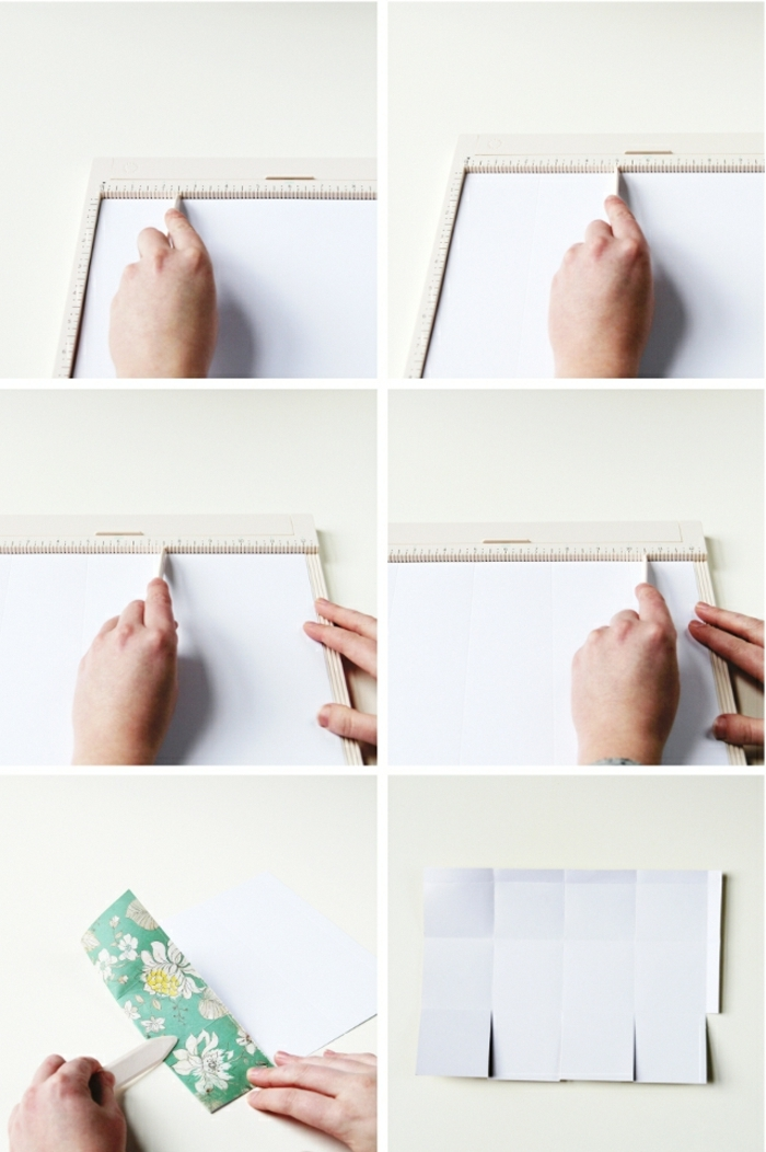 pasos para hacer manualidades con cartulina, bonitos detalles DIY hechos a mano, cajas de cartulina DIY