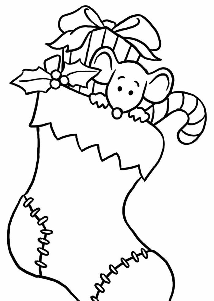 imágines de dibujos de navidad faciles, originales ideas de dibujos de páginas de colorear que puedes imprimir