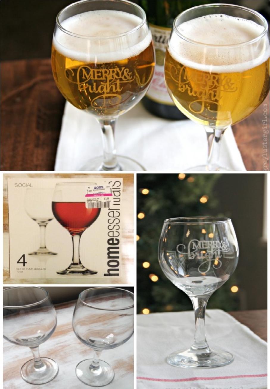 jarras de cerveza personalizadas para navidad, ideas de regalos para amigo invisible unisex