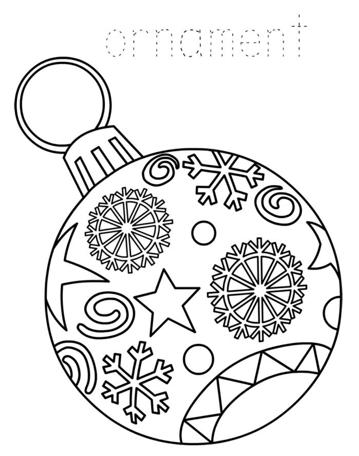 imágines de dibujos navideños, precioso ornamento, esfera para colgar al árbol, bola navideña con dibujos