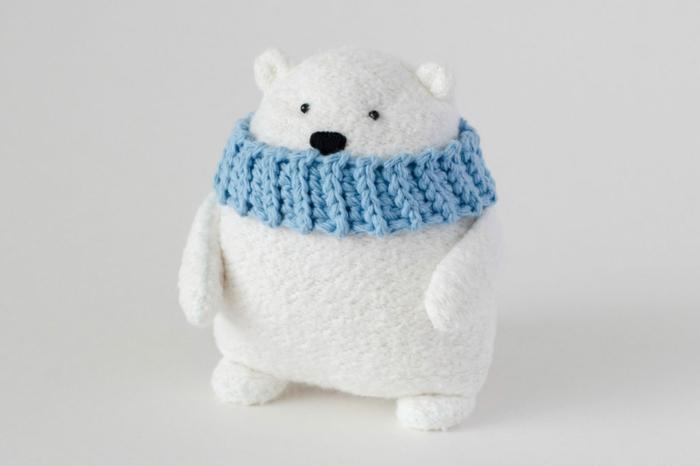 adornos navideños caseros super bonitos, pequeño oso DIY, decoracion navideña manualidades