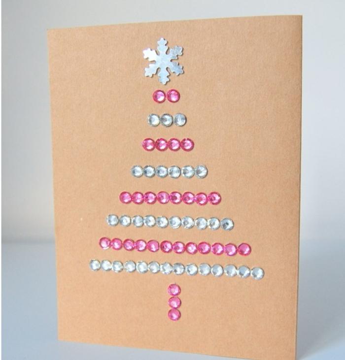 Ideas De Dibujos De Navidad.1001 Ideas De Tarjetas Navidenas Originales Para Hacer