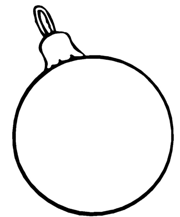 Bolas De Navidad Dibujos Para Colorear.1001 Ideas De Dibujos Navidenos Para Colorear
