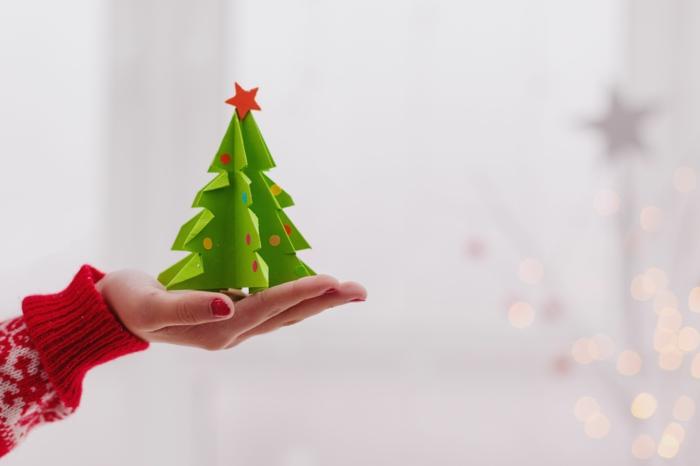 1001 ideas de adornos navide os caseros paso a paso for Adornos navidenos origami paso a paso