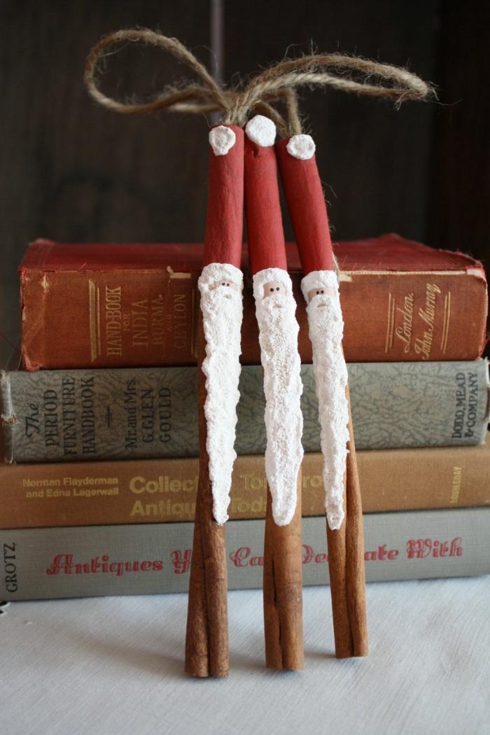 ingeniosas propuestas de decoracion navideña original para hacer en casa, adornos hechos de materiales naturales