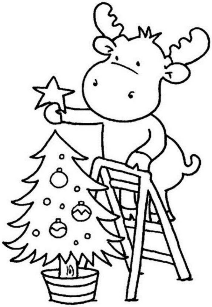 dibujos de navidad para copiar super tiernos para tu pequeño, fotos de dibujos con motivos navideños