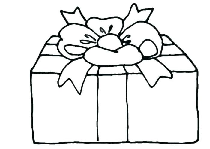 dibujos temáticos para Navidad, dibujos de navidad para copiar para niños pequeños