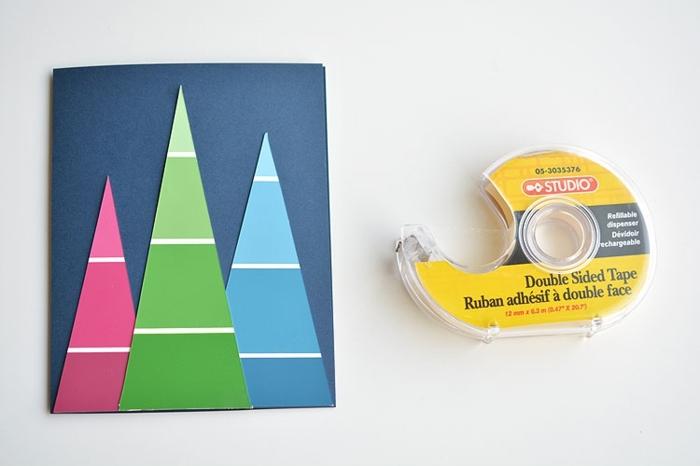 como hacer postales navideñas personalizadas paso a paso, bonitas ideas con tutoriales
