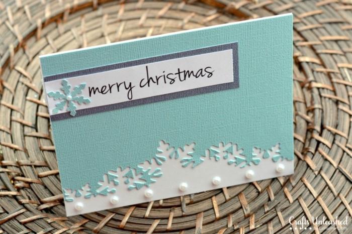 postales navideñas personalizadas super bonitas, ideas de tarjetas DIY con tutoriales paso a paso