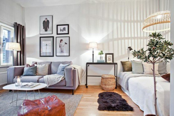 a decorar pisos pequeños, trucos y detalles para añadir espacio visualmente a una habitación