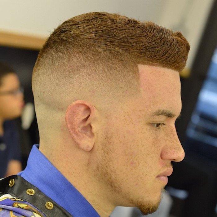 cortes de pelo hombre degradado para todos los tipos de cabello, últimas tendencias en los peinados hombres