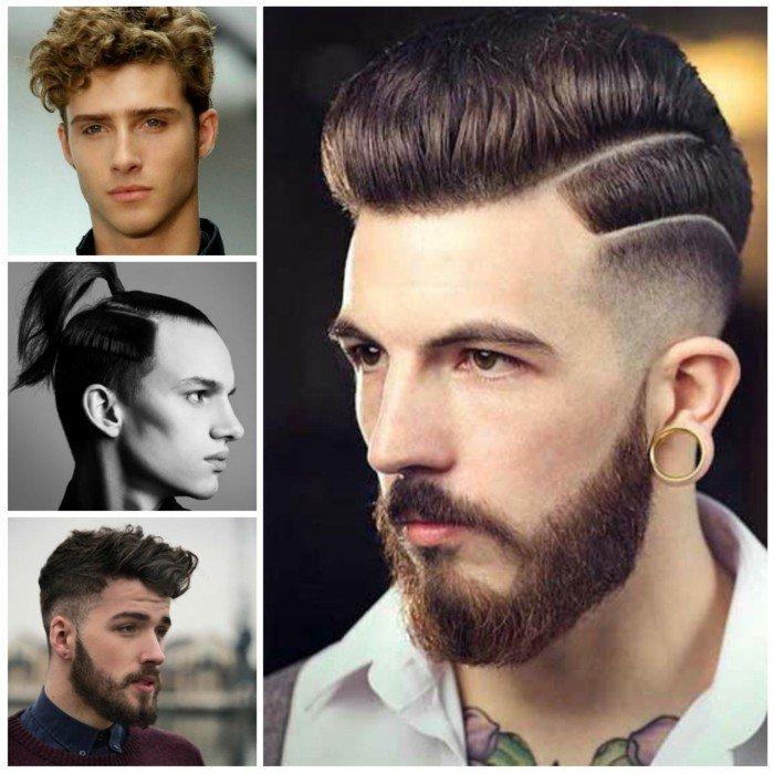 cuatro propuestas de corte de pelo degradado, últimas tendencias en peinados hombre en estilo hipster