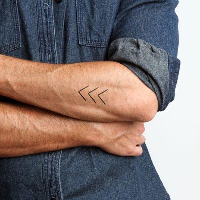 tatuajes chiquitos geométricos, tattoos elegantes para hombres y mujeres, tattoos con significado