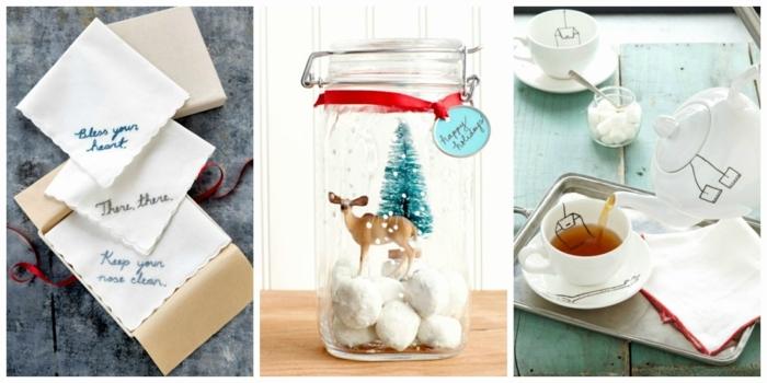 tres bonitas propuestas de regalos amigo invisible manual, regalos navideños con mucho encanto para amigo invisible