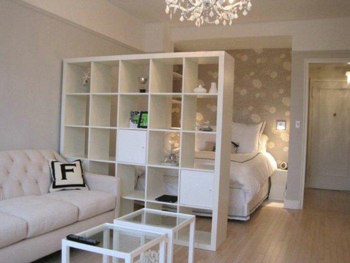 espacio decorado en gris y beige, ideas sobre como decorar pisos pequeños en colores claros