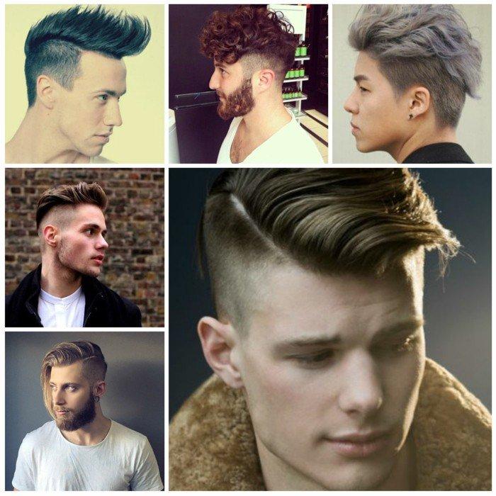 las mejores propuestas de peinados hipster con degradado y larga franja, cortes de pelo modernos hombres