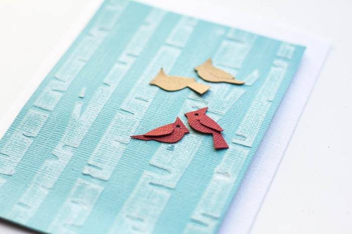 postales de navidad hechas a mano bonitas hechos a mano, pequeñas detalles de cartulina para adornar tus tarjetas