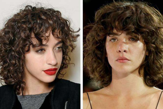 corte de pelo corto cortado en capas con flequillos asimétricos, tendencias pelo mujer 2018