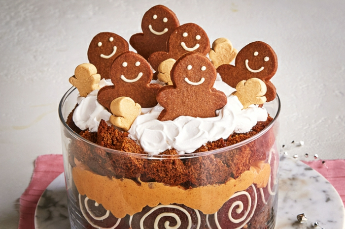 postres navideños con galletas jengibre, alucinantes ideas de recetas navideñas faciles en fotos