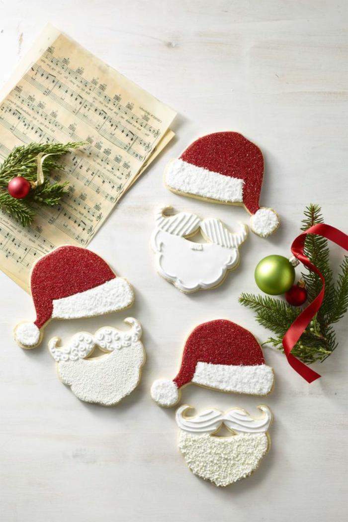 recetas navideñas faciles de postres, galletas navideñas con mantequilla, decoración postres navideños