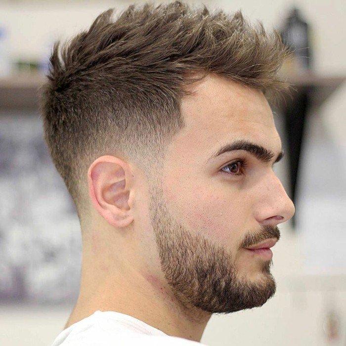 corte de pelo halcón, las mejores ideas de cortes de pelo modernos hombres, costados rapados