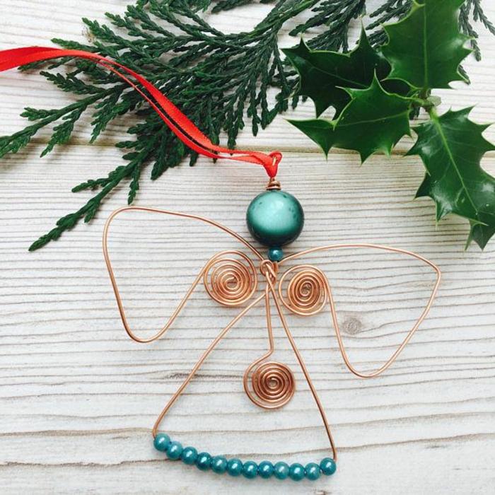como decorar un arbol de navidad casero, bonitas ideas de preciosos adornos de Navidad hechos a mano