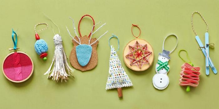 adornos navideños hechos a mano para regalar en Navidad, regalo amigo invisible hecho a mano original