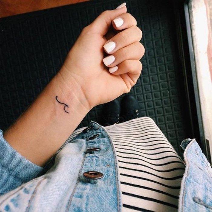 diseños minimalistas de tatuajes pequeños con significado, galería de imágines de tatuajes