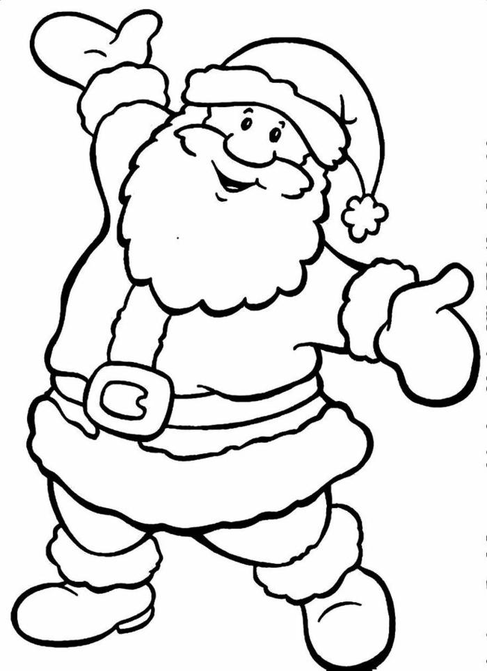 descargar dibujos de papa noel gratis, dibujos originales navideños para niños, actividades pequeocio