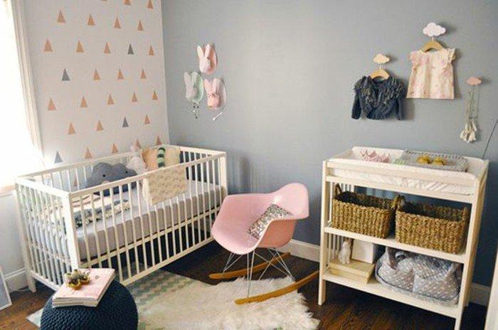 dormitorio infantil decorado en gris, con que color puedo combinar el gris, decoración de interiores
